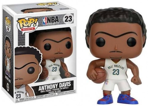 Funko Pop Anthony Davis Nba Basquete New Orleans Pelicans Novo Original-NBA-23