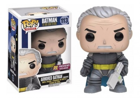 Armored Batman Unmasked - Funko Pop! Caixa Com Defeito-Batman The Dark Knight Returns-113