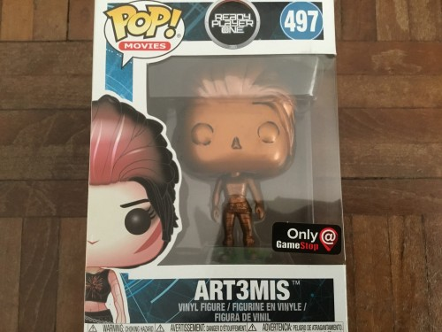 Funko Pop Art3mis Bronze Ready Player One Exclusive Com Protetor - Ready Player One - #497