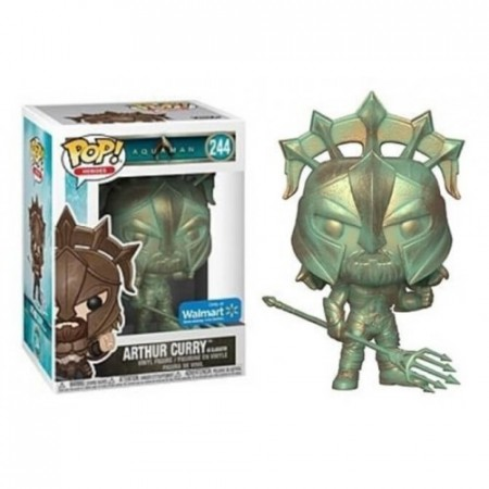 Arthur Curry - Aquaman Patina - Funko Pop! Exclusivo Walmart-Aquaman-244