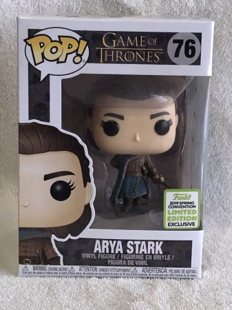 Funko Pop Arya Stark - Exclusiva Eccc-Game Of Thrones-76