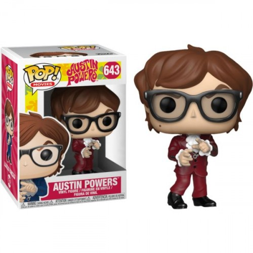 Austin Powers 643 Exclusivo Pop Funko-Austin Powers-643