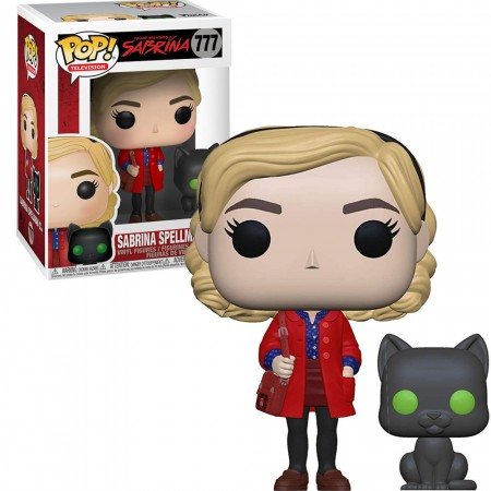 Boneco Funko Pop Chilling Adventures Of Sabrina - Sabrina With Salem-television-777