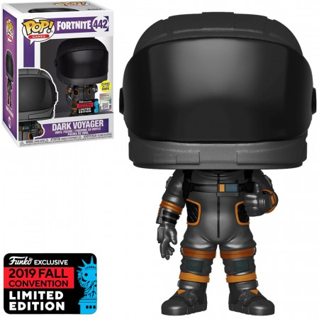 Boneco Funko Pop Fortnite Exclusive Nycc 2019 - Dark Voyager - Glows In The Dark-Fortnite-442
