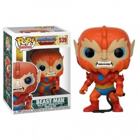 Boneco Funko Pop Tv Masters Of The Universe - Beast Man-Masters of the Universe-539