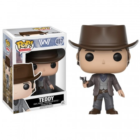 Boneco Funko Pop Westworld - Teddy-WestWorld-457