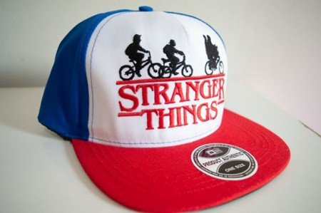 Kit e Balde de Pipoca BonÉ Aba Reta - Strangher Things-Stranger Things-