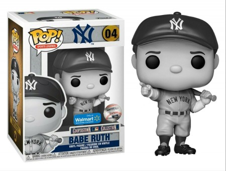 Babe Ruth Pointing New York Yankees Black White Sports Legends Funko Pop!-MLB-4