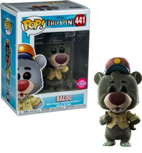 Baloo 441 Excl Flocked Pop Funko Talespin - Talespin - #441