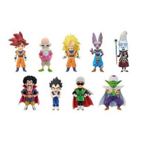 Action Figures Banpresto: Dragon Ball Super God Vs God - Mistery Box-Dragon Ball-