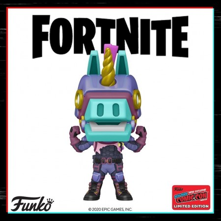 Funko Pop Bash Excl. Nycc 2020-Fortnite-1