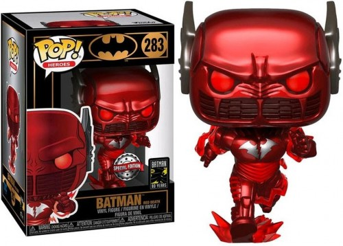 Batman Red Death 283 Exclusivo Pop Funko Dc-Batman First Appearance 80th Anniversary-283
