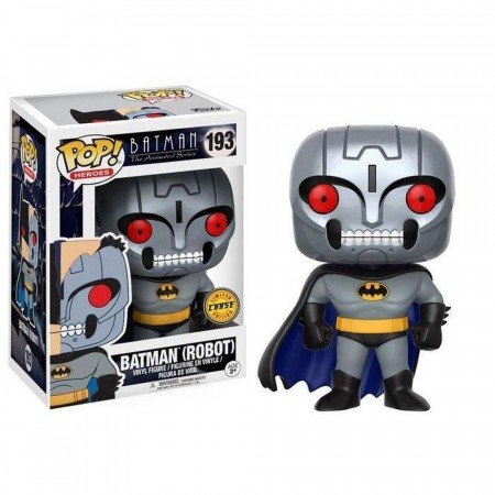 Funko Pop Batman Robot (chase)-Batman The Animated Series-193