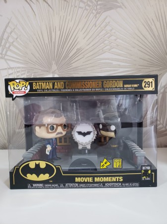 Funko Pop Batman And Comissioner Gordon-Batman Cavaleiro das Trevas-291