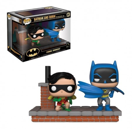 Funko Pop Batman And Robin - New Look Batman 1964-Batman 80th-281