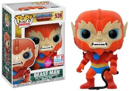 Funko Pop Beast Man Flocked-Masters of the Universe-539