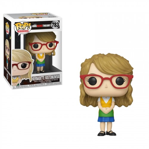 Funko Pop! TBBT: Bernadette Rostenkowski-The Bing Bang Theory-783