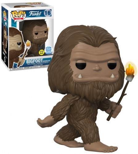Bigfoot Funko Myths Limitado Exclusivo Glows Brilha Com Protetor-Myths-16