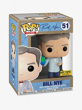Bill Nye - Bill Nye - Funko Pop! Exclusivo Hot Topic-Bill Nye-51