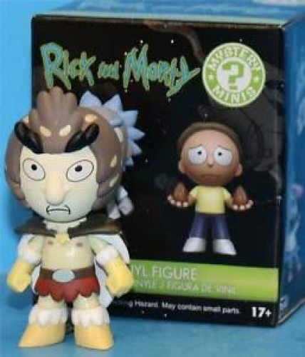 Action Figures Birdperson - Funko Mystery Mini-Rick And Morty-