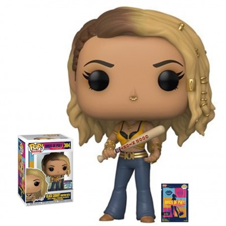 Funko Pop Black Canary - Entertainment Earth Exclusive-Birds Of Prey-304