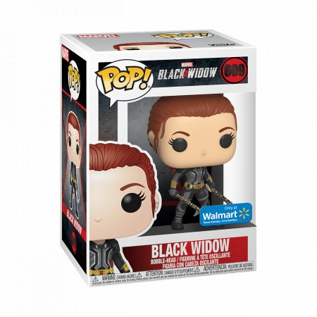 Black Widow - Marvel - Funko Pop! Exclusivo Walmart-Black Widow-609