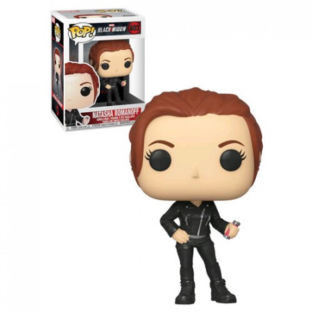 Funko Pop Black Widow - Natasha Romanoff-Marvel Viúva Negra-603
