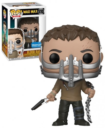 Funko Bloodbag - Exclusivo Walmart - Mad Max: Estrada da Fúria - #510