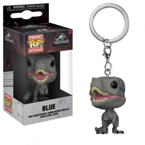 Chaveiro Blue-Jurassic World-