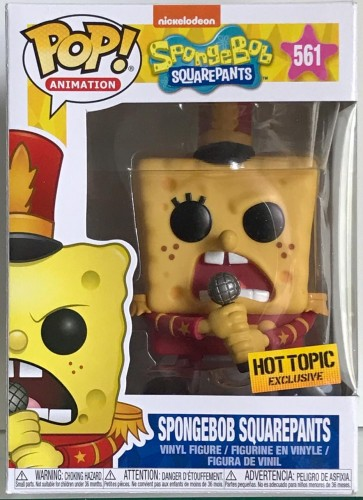 Bob Esponja - Spongebob Squarepants - Funko Pop! Exclusivo Hot Topic-Spongebob Squarepants-561
