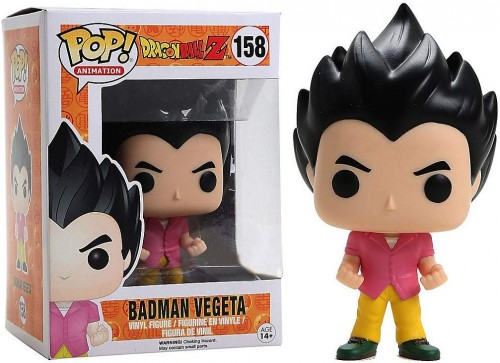 Boneco Funko Pop Badman Vegeta - Dragon Ball Z-dragon ball Z-158