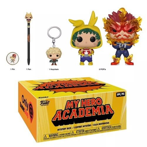 Boneco Funko Pop Box My Hero Academia- Mystery Box-My Hero Academia-1
