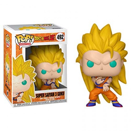 Boneco Funko Pop Dragon Ball Z Goku Super Saiyan 3-Dragon Ball Z-492