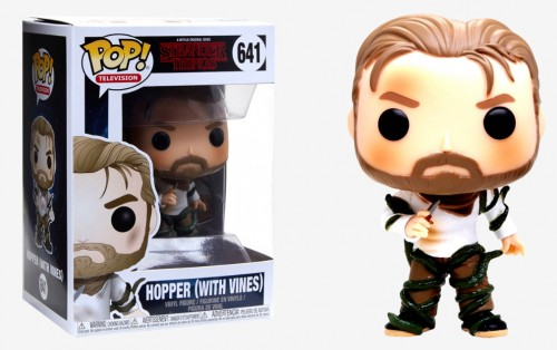 Boneco Funko Pop Hopper With Vines #641 Stranger Things - Stranger Things - #641