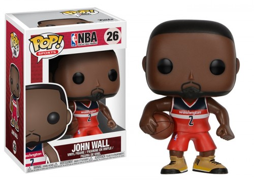 Boneco Funko Pop Nba John Wall #26 Wizards - Original-NBA-26