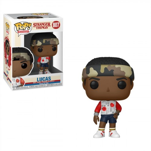 Boneco Funko Pop Stranger Things Lucas-Stranger Things-807