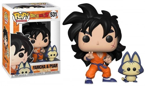 Boneco Funko Pop Yamcha & Puar Dragon Ball Z - dragon ball Z - #531