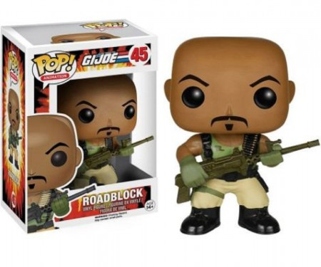 Boneco G.i Joe Retaliation Roadblock #45 Funko Pop!-G.I Joe-45