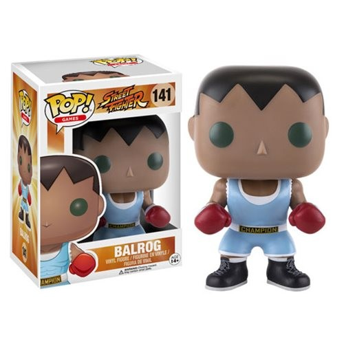 Boneco Street Fighter Balrog Funko Pop!-Street Fighter-141