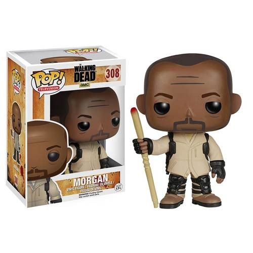 Boneco The Walking Dead Morgan Funko Pop! - The Walking Dead - #308