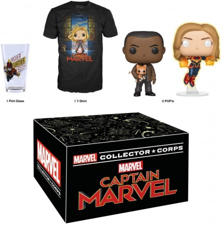 Funko Pop Box Capitã Marvel - Collector Corps-capita marvel-446