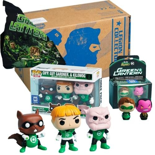 Funko Box Legion Of Collectors Green Lantern Completa-Lanterna Verde-3