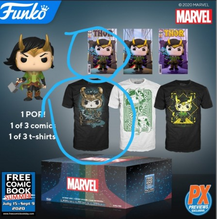 Funko Pop Box Marvel Loki - Amazon Xl-Marvel Studios-1