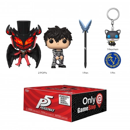 Funko Pop Box Persona 5 Gamestop-Persona 5-522