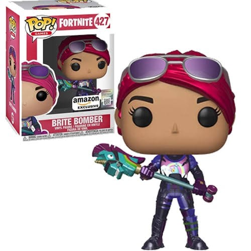 Funko Pop Brite Bomber Metálica - Amazon-Fortnite-427