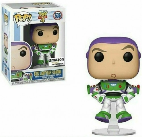 Buzz Lightyear Floating - Toy Story - Funko Pop! Amazon - Toy Story 4 - #536