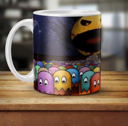 Caneca Do Pac Man-Pac Man-