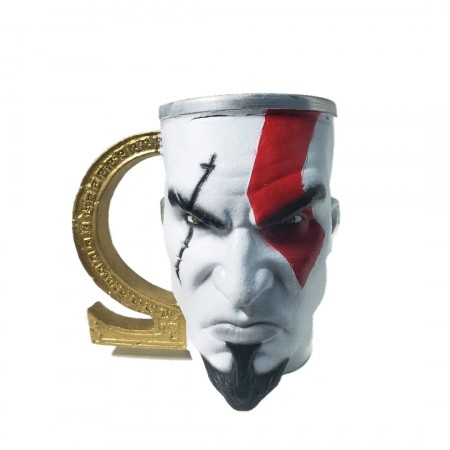 Caneca Kratos (god Of War)-God of War-