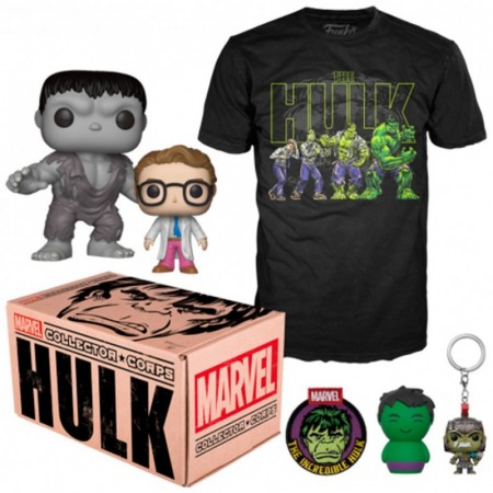 Collector Box Hulk Funko Pop-marvel-1