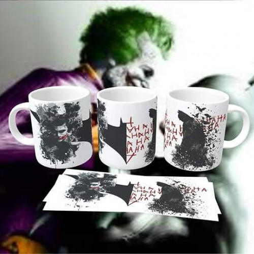 Caneca Batman Vs Joker-Batman vs Joker-